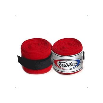 Bandes de boxe FAIRTEX Rouge