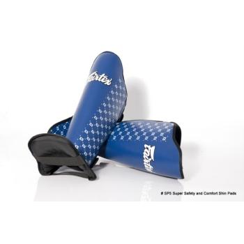 Protèges tibias & pieds FAIRTEX SP5 Bleu