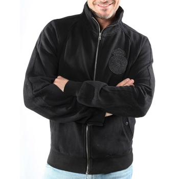 Sweat Zip EVERLAST Patterson noir