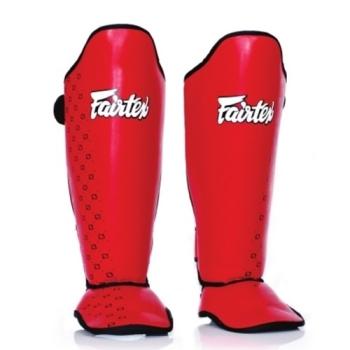 Protèges tibias & pieds FAIRTEX SP5 Rouge