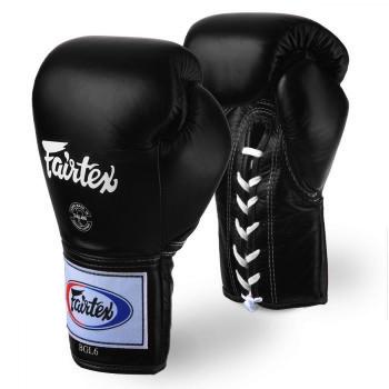 Gants de combat FAIRTEX Pro THAï  FXL6 Noir
