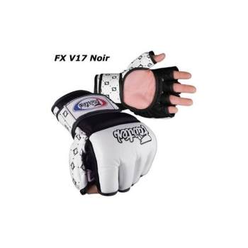 Gants Free Fight FAIRTEX V17 - Noir