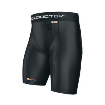 Short SHOCK DOCTOR de Compression pour coquille