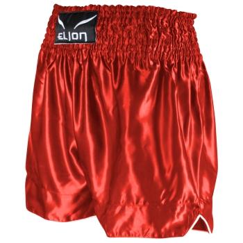 Short de Boxe Thaï ELION Rouge