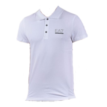 Polo ARMANI EA7 Train Evolution - Blanc