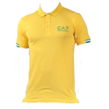 Polo ARMANI EA7 Train Soccer world - Jaune