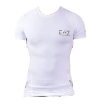 Tshirt ARMANI EA7 Tech - Blanc