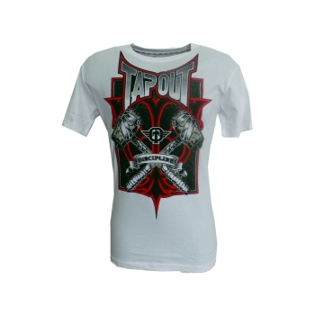 Tshirt Tapout Hammered - Blanc