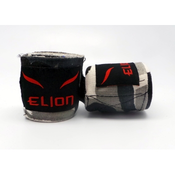 Bandes de boxe ELION Camo Blanc