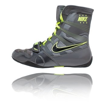 Chaussures NIKE HyperKO - Gris & Fluo