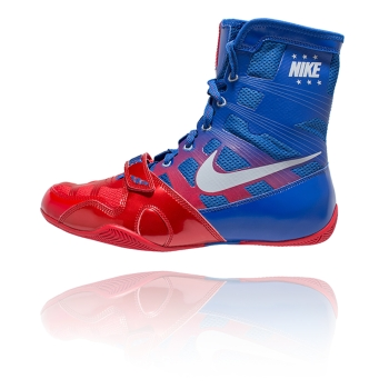 Chaussures NIKE HyperKO - Bleu & Rouge