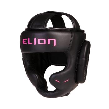 Casque de boxe ELION Uncage - Matblack/Pink