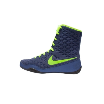 Chaussures NIKE KO - Navy/Electric Green