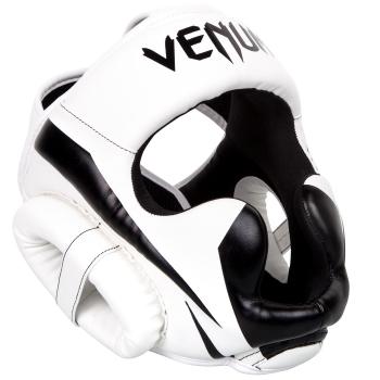 Casque de Boxe Venum Elite - Blanc/Noir