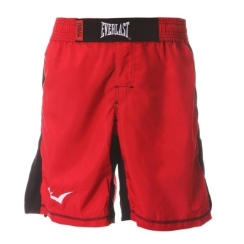 Short de MMA EVERLAST Rouge/Noir