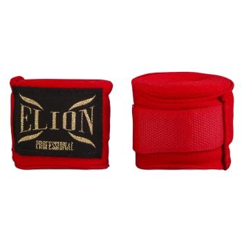 Bandes de boxe ELION 4.5m Rouge
