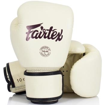 Gants de Boxe FAIRTEX FXV16 - Blanc Crème