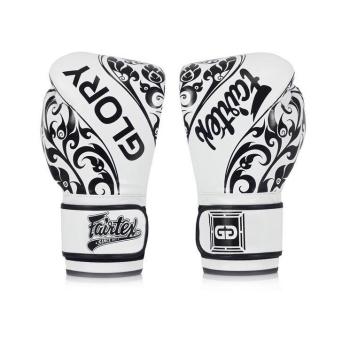 Gants de Boxe d'entrainement FAIRTEX FXV2 GLORY Blanc