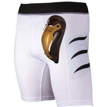 Pack Short de compression ELION Blanc avec Coquille Gold Cup ELION