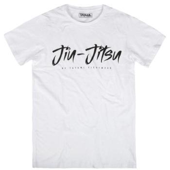 T-Shirt Jiu Jitsu Signature TATAMI Blanc