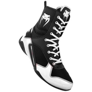 Chaussures de Boxe VENUM Elite Noir/Blanc