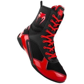 Chaussures de Boxe VENUM Elite Noir/Rouge