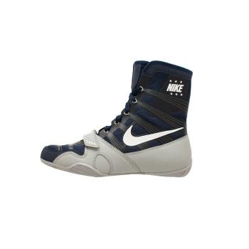 Chaussures NIKE HyperKO - Bleu Navy & Silver Mat