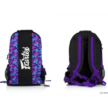 Sac de sport FAIRTEX  Purple camo