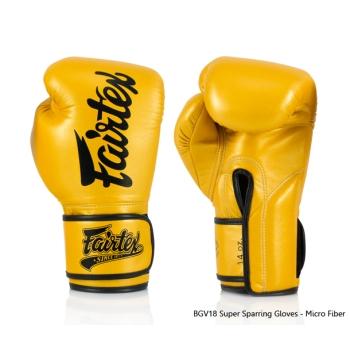 Gants de Boxe d'entrainement Super Sparring FAIRTEX FXV18