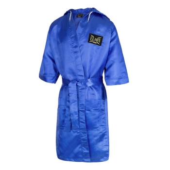 Peignoir de boxe capuche ELION Bleu