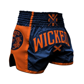 Short de Boxe Thaï Wicked One  CROSS Orange