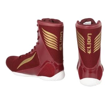 Chaussures de Boxe ELION Rapide Bordeaux/Or
