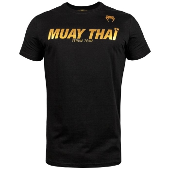 T-SHIRT VENUM MUAY THAI VT  BLACK/OR