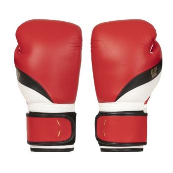 L'Elégant de boxe ELION Paris Velcro - Rouge Mat/Noir/Blanc Mat