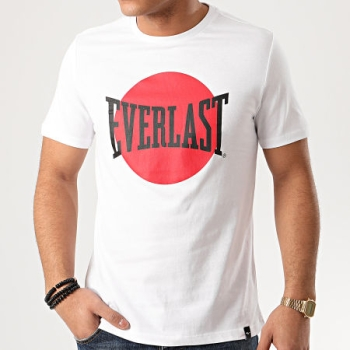 T-Shirt  EVERLAST Blanc collection japan