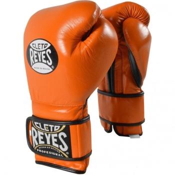 Gants de Boxe d'entrainement REYES Pro Tiger Orange - Redesign