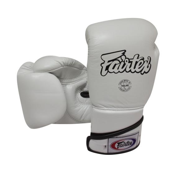 Gants de Boxe  d'entrainement FAIRTEX FXV6 Blanc