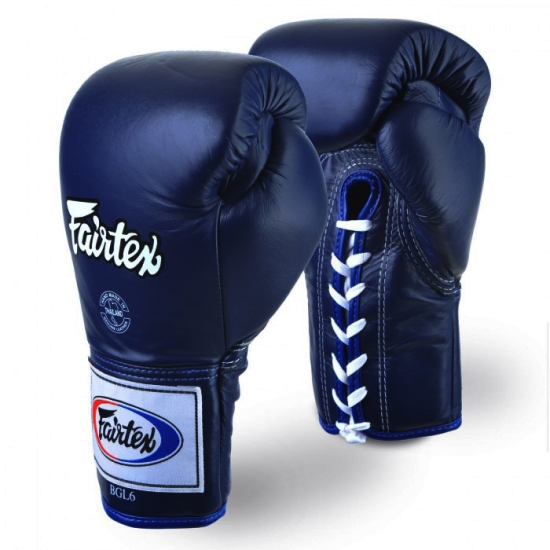 Gants de combat FAIRTEX Pro THAï  FXL6 bleu