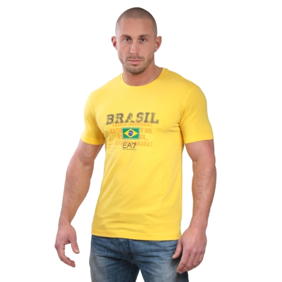 Tshirt ARMANI EA7 Train soccer world