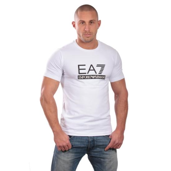 Tshirt ARMANI EA7 Train graphic ST5 - Blanc