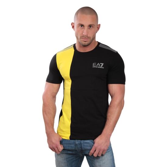 Tshirt ARMANI EA7 Train graphic ST2 - Noir