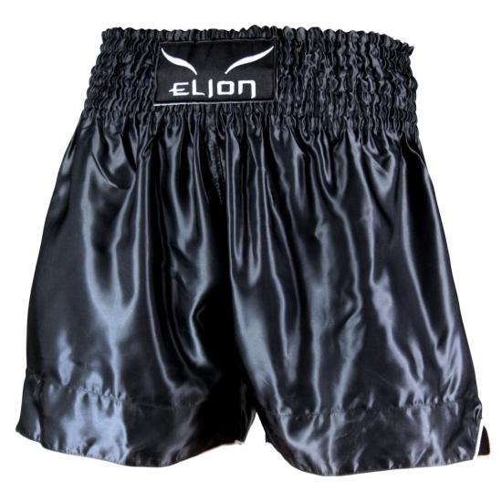 Short de Boxe Thaï ELION Noir