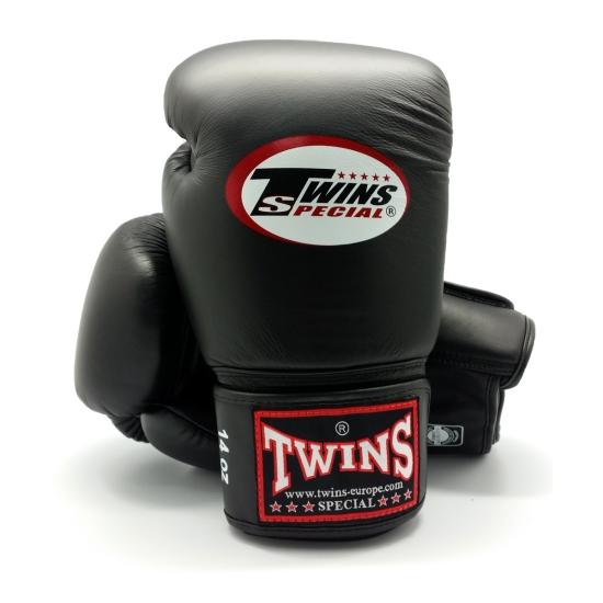 Gants de Boxe d'entrainement TWINS BGN Noir