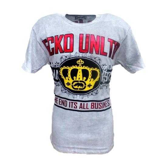 T-Shirt ECKO All business Blanc