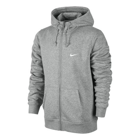 Sweat Zippé Nike Club Gris