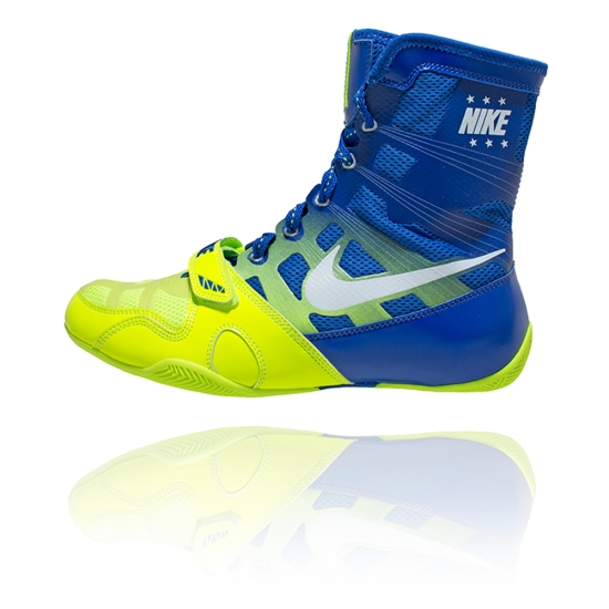 Chaussures NIKE HyperKO - Bleu & Fluo