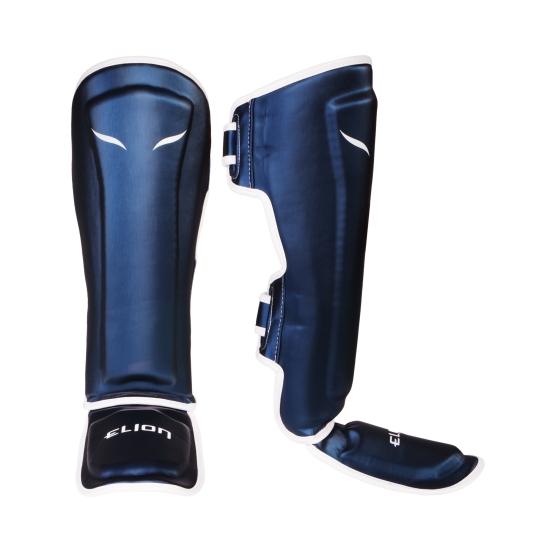 Protège tibias & pieds ELION - Blue Silk