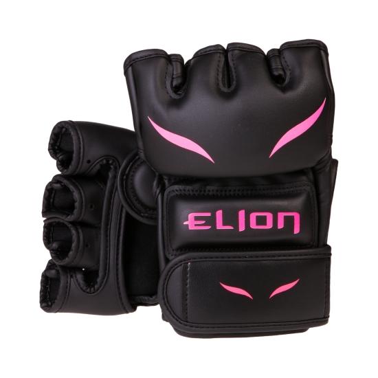 Gants MMA ELION Uncage - Matblack/Pink