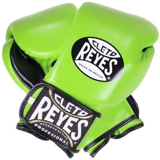Gants de Boxe d'entrainement REYES Pro Citrus Green- Redesign