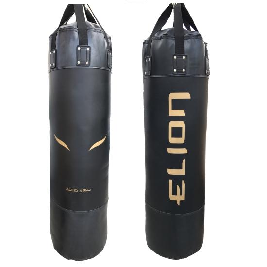 Sac de frappe ELION Skintex - 1m30 - 45Kg - Noir Mat/Or